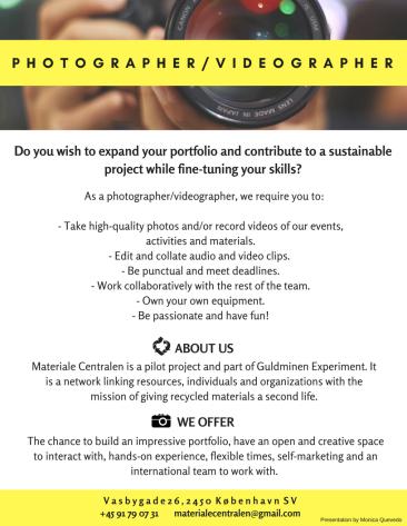 Photographer ad
